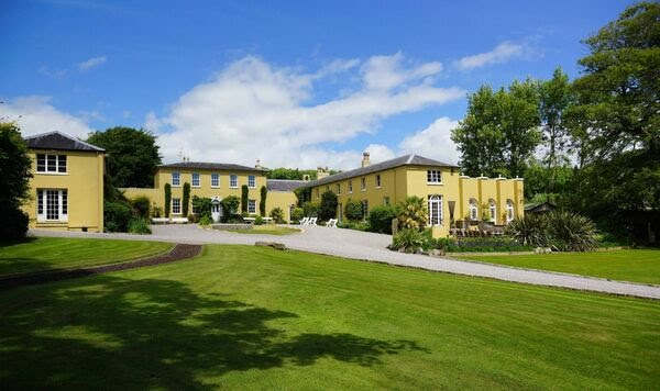 Ballinacurra House itself has 14 bedrooms, and 18,400 sq ft, with Georgian roots